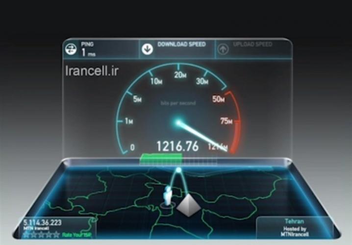رکوردسرعت اینترنت موبایل