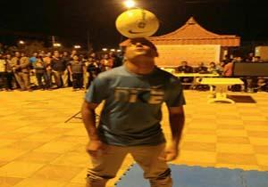 رکورد شکنی جوان مینابی