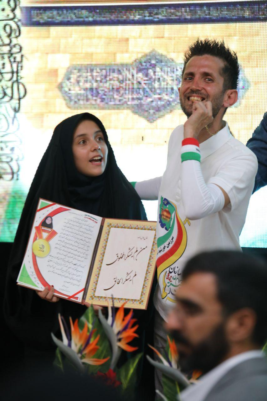 رکورد جدید سید عابد جعفری